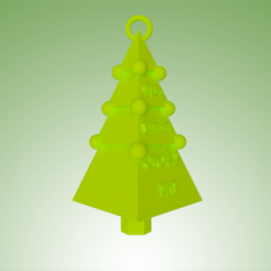 Download 3D printing templates Christmas tree my first christmas, 3dgregor