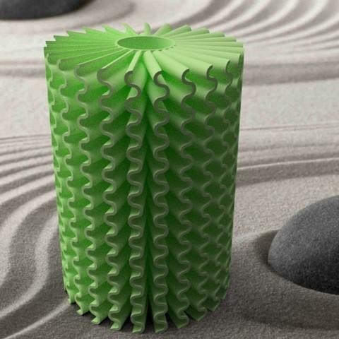 """soliflor-spiraleondulé-1.jpg Download STL file Corals"""" series 3dgregor • 3D printable object, 3dgregor"""