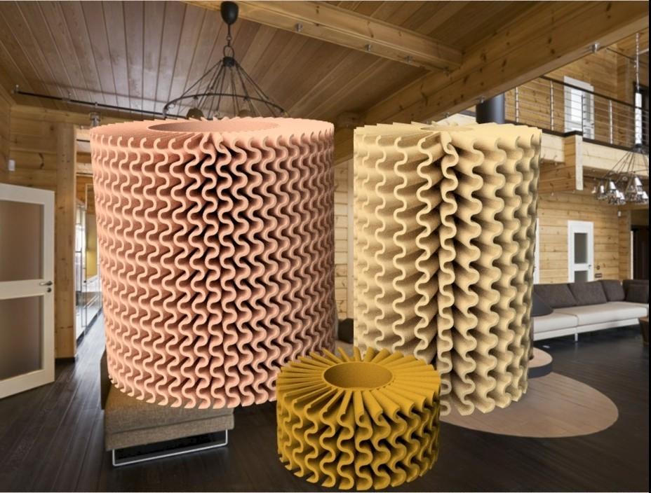 """Ensemble gamme onduler.jpg Download STL file Corals"""" series 3dgregor • 3D printable object, 3dgregor"""