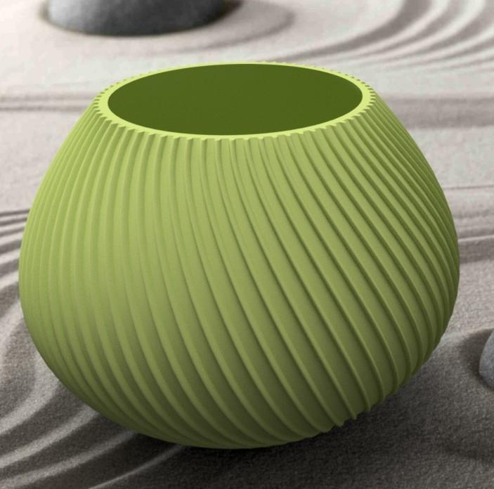 """vase-coquillage-1.jpg Download STL file Vase series """"MER"""" 3dgregor • Object to 3D print, 3dgregor"""