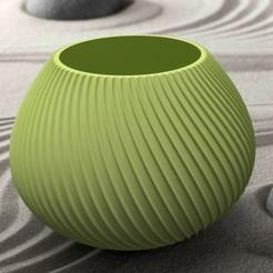 """Download 3D printing designs Vase series """"MER"""" 3dgregor, 3dgregor"""