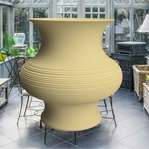 "fichier imprimante 3d vase ""poterie"" 3dgregor, 3dgregor"