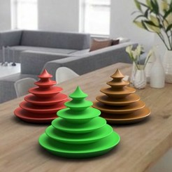 deco-de-table-noel-1.jpg Télécharger fichier STL christmas tree deco 3dgregor • Design imprimable en 3D, 3dgregor