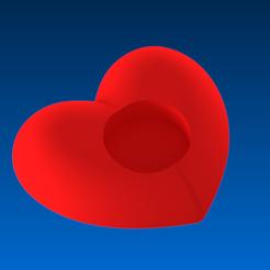 fichier 3d porte bougie coeur pur, 3dgregor