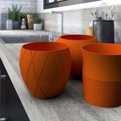 pots-de-fleurs.jpg Télécharger fichier STL Clay pot ! 3dgregor • Plan imprimable en 3D, 3dgregor