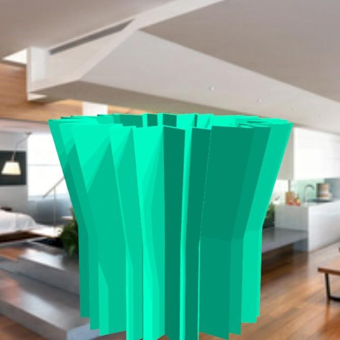 """vase-origami-3.jpg Download STL file vase """"ORIGAMI"""" 3dgregor • 3D print model, 3dgregor"""