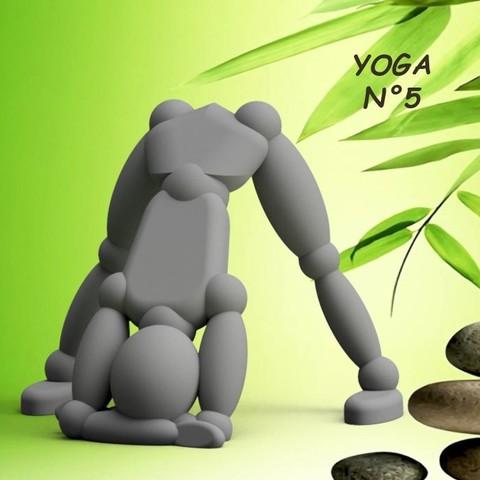 Download 3D model Umen YOGA N°5, 3dgregor