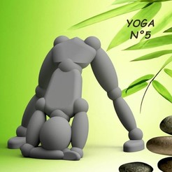 YOGA-N°5.jpg Download STL file Umen YOGA N°5 • Template to 3D print, 3dgregor