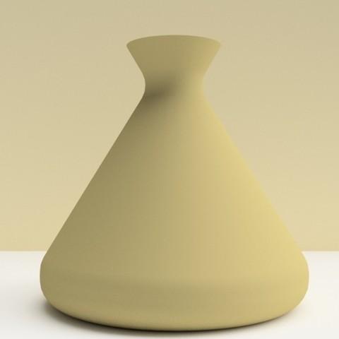 """tajine café.jpg Download STL file Vases """"TAJINE"""" 3dgregor • 3D printer design, 3dgregor"""