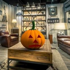 modèle 3d halloween pumpkin 3dgregor, 3dgregor