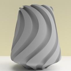 """Download 3D printer designs SWEETWAVE"""" vase 3dgregor, 3dgregor"""
