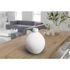 """Fichier impression 3D Vase """"milk bottle"""" three 3d gregor, 3dgregor"""
