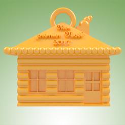modèle 3d Maison en sucre MPN, 3dgregor