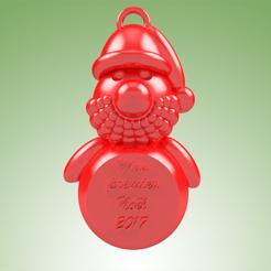 Imprimir en 3D Papá Noel MPN, 3dgregor