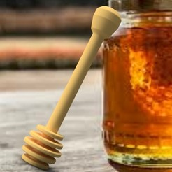Archivos STL Cuchara de miel 3dgregor, 3dgregor