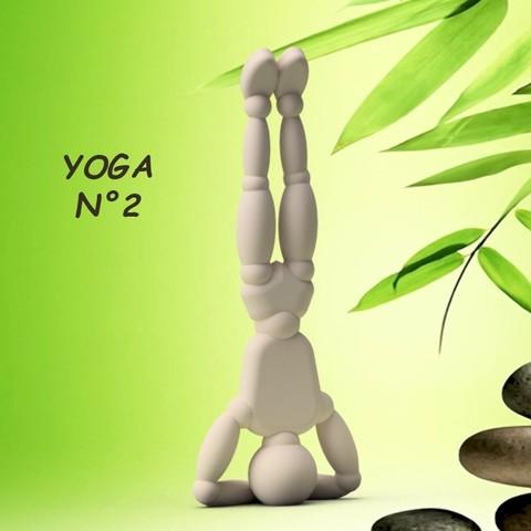 Download 3D model Umen YOGA N°2 3dgregor, 3dgregor