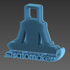 Download free 3D printing designs TRATEMAKER ZEN, 3dgregor