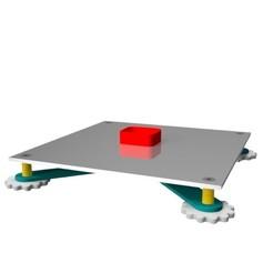 """Ensemble couche plateau-teste.jpg Télécharger fichier STL gratuit Teste épaisseur couche """"layer heigt"""" • Design imprimable en 3D, 3dgregor"""