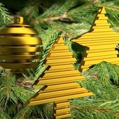 Télécharger fichier 3D Christmas basic grooves 3dgregor, 3dgregor