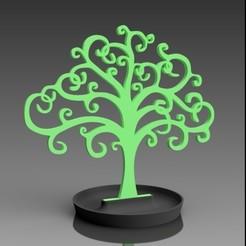 Ensemble ARBRE DE VIE.jpg Télécharger fichier STL Tree of life - jewelry holder • Modèle imprimable en 3D, 3dgregor