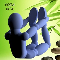 YOGA-N°4.jpg Download STL file Umen YOGA N°4 3dgregor • 3D printing model, 3dgregor