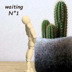 Download 3D printer model Umen waiting 1 3dgregor, 3dgregor