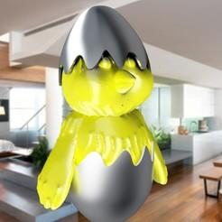 Diseños 3D Pollo de Pascua 3dgregor, 3dgregor