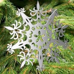 Télécharger modèle 3D Snowflake Sobeauty 3dgregor, 3dgregor