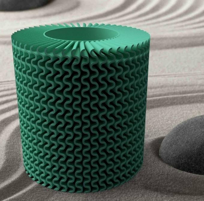 """spiraleondulé-1.jpg Download STL file Corals"""" series 3dgregor • 3D printable object, 3dgregor"""