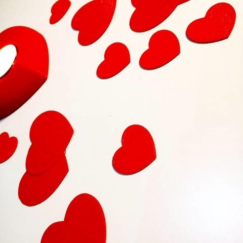 Download STL Heart Petals, 3dgregor
