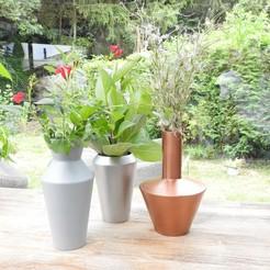"3D print model Flower vases ""GEO"" 3dgregor, 3dgregor"