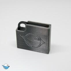 Tile-Pro-Shield-Back-by-loiseaucreatif.jpg Download free STL file Tile Pro Shield • 3D printable design, loiseaucreatif