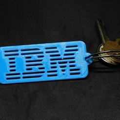 Télécharger objet 3D gratuit Porte-clés IBM, loiseaucreatif