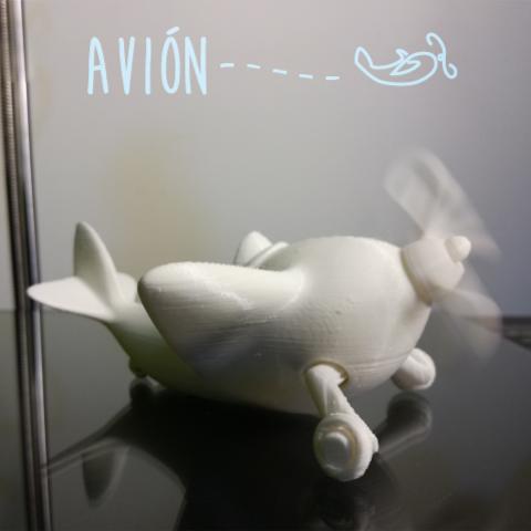 avion6.png Download free STL file Avión #STRATOMAKER • Model to 3D print, AdrianoDElia