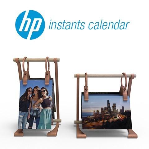 4.jpg Download free STL file HP Instants Calendar • 3D printing model, AdrianoDElia
