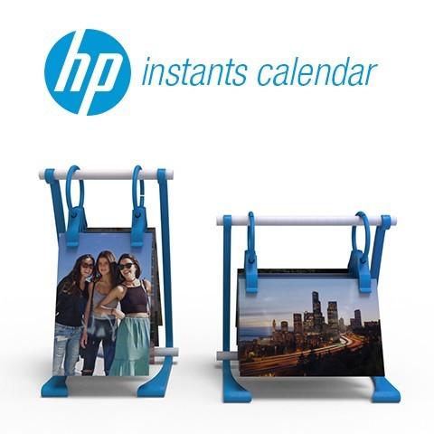 3.jpg Download free STL file HP Instants Calendar • 3D printing model, AdrianoDElia