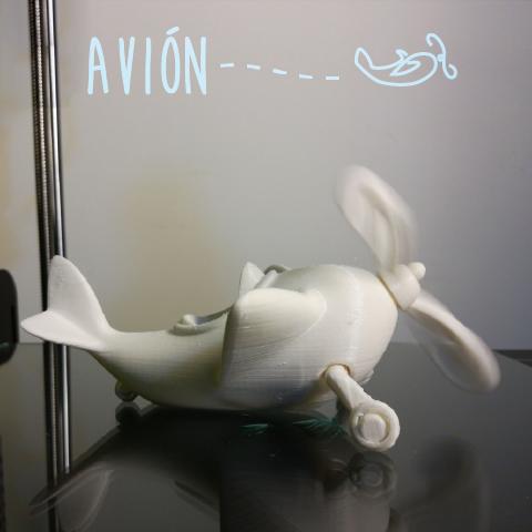 avion3.png Download free STL file Avión #STRATOMAKER • Model to 3D print, AdrianoDElia