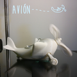 Télécharger plan imprimante 3D gatuit Avión #STRATOMAKER, AdrianoDElia
