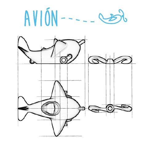 avion1.png Download free STL file Avión #STRATOMAKER • Model to 3D print, AdrianoDElia