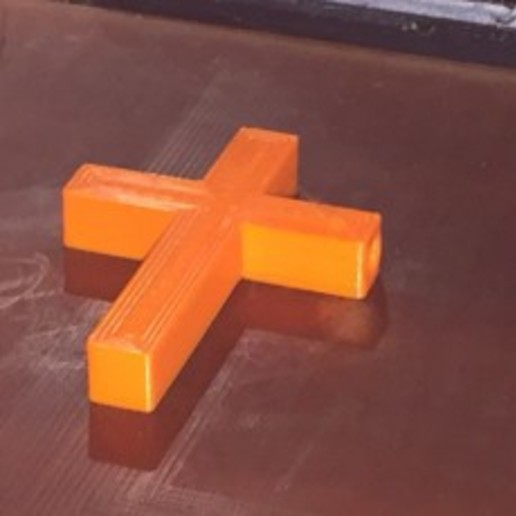 Download free STL file Catholic Cross Bead • 3D printing object, Tim-Postma
