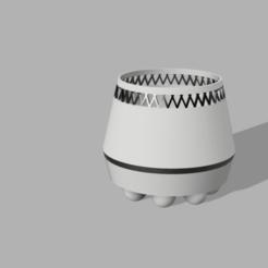 Impresiones 3D gratis Maceta, RachidAliOsinachi