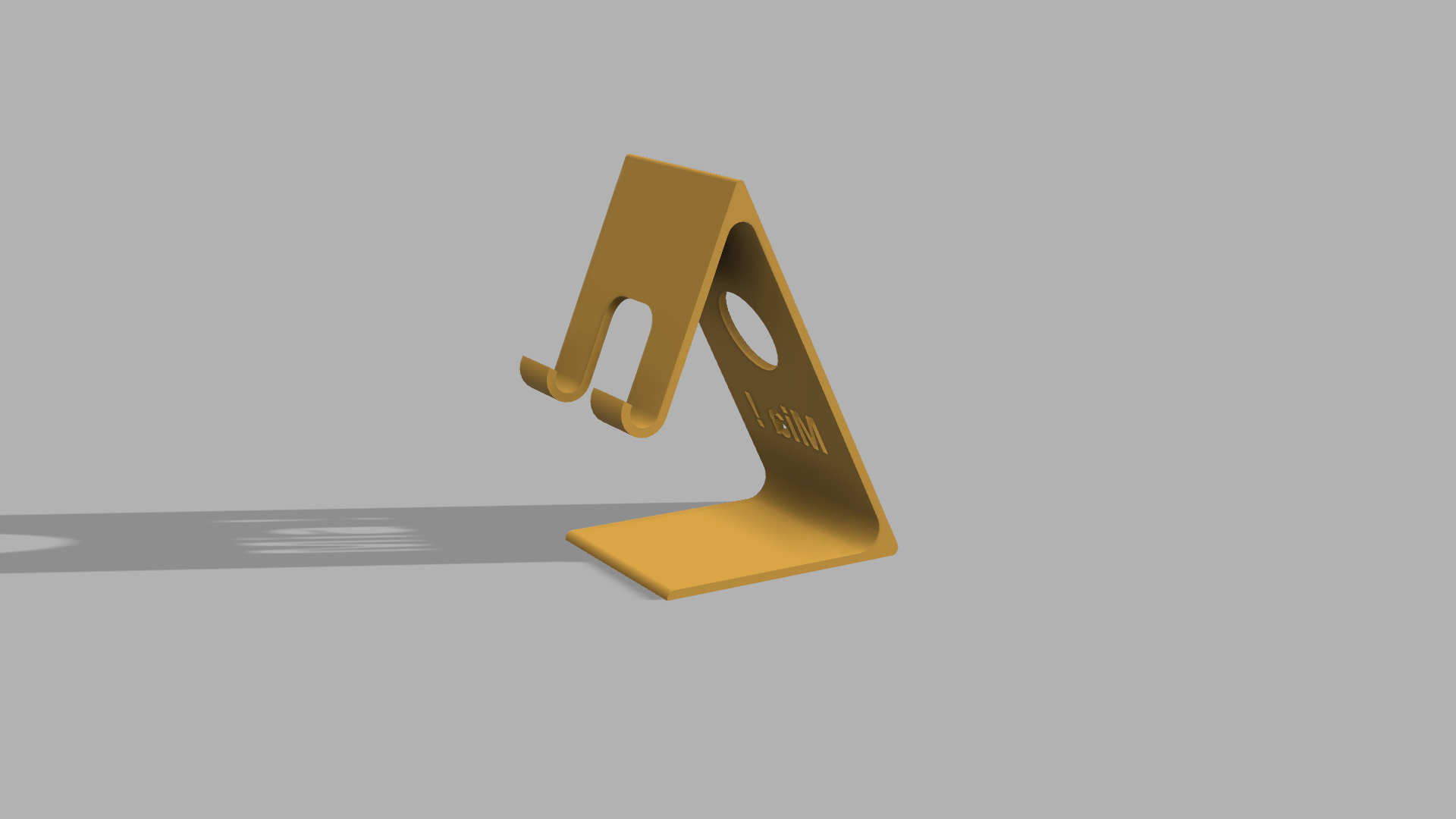 Sup_Mia v0.png Download free STL file Phone Holder • Model to 3D print, RachidAliOsinachi