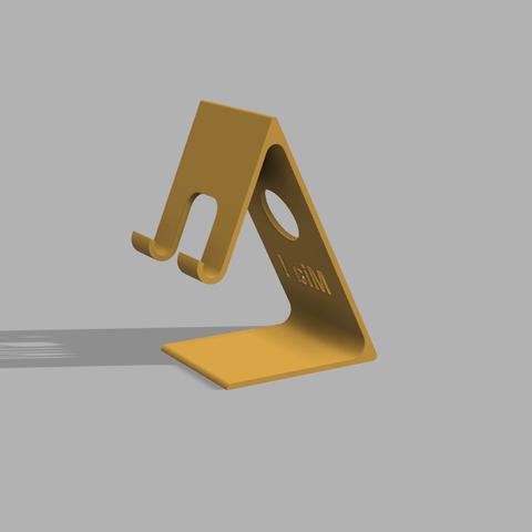 Download free 3D printing templates Phone Holder, RachidAliOsinachi