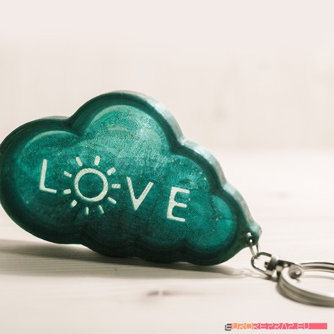 Download Stl File Valentine S Day Love Reminder Keychain Design To 3d Print Cults