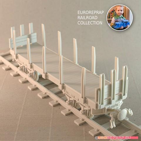 3D printer files Carriage-02 for Euroreprap Railroad System, euroreprap_eu
