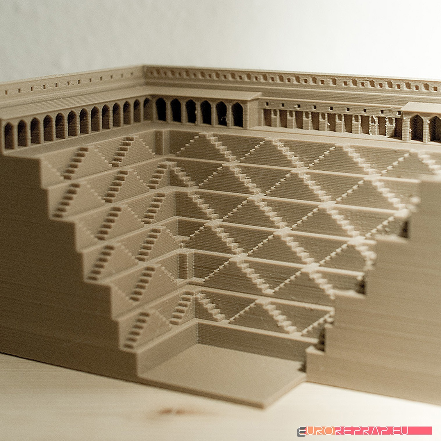 architecture example 6p.jpg Download STL file 3D printable architectural exhibition model 06 • 3D printable template, euroreprap_eu