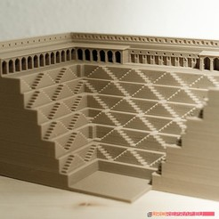 Download 3D printer designs 3D printable architectural exhibition model 06, euroreprap_eu