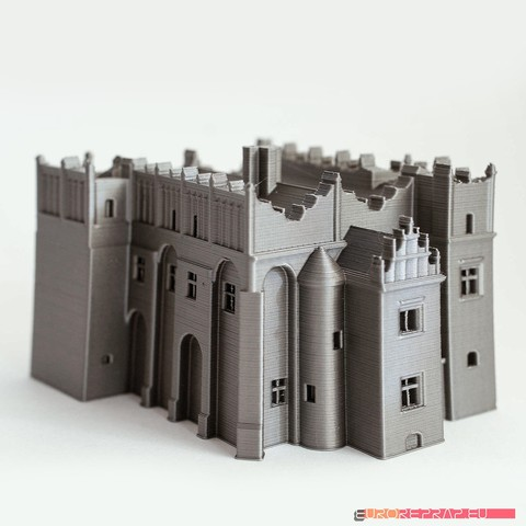 Download 3D printer templates Medieval-renaissance castle - no supports needed, euroreprap_eu