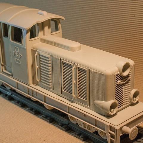 FVEMHKBI4O23O4N.LARGE.jpg Download STL file Diesel-01 locomotive model that fits popular tracks • 3D print model, euroreprap_eu
