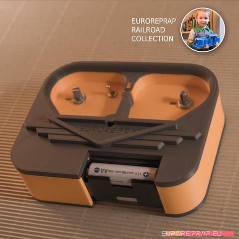 Télécharger modèle 3D Boîtier de contrôleur radio pour mes modèles., euroreprap_eu